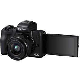 Canon EOS M50 Mirrorless Camera With EF-M 15-45mm IS STM Lens - Black Thumbnail Image 9
